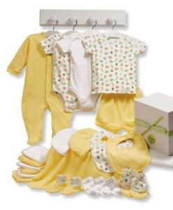 Carters 22 Piece Essentials Gift Set, Yellow