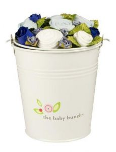 The Baby Bunch Medium Bucket Blue 0 to 6 Months