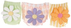 Baby Aspen Bunch O' Bloomers 3 Bloomers for Blooming Bums,