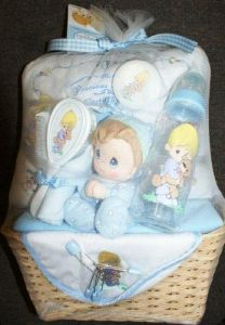 Precious Moments 15 piece baby gift set - boy