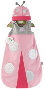 Baby Aspen Snug As A Bug Ladybug Snuggle Sack, 0-6 Months
