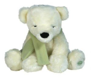 Cloud B Polar Cuddle Bear Sleep Aid - Gently Shivers For
