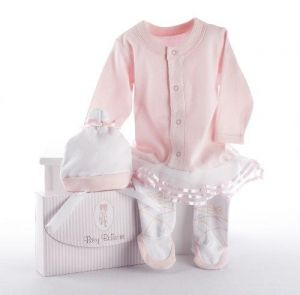 Baby Aspen Big Dreamzzz Baby Ballerina Two-Piece Layette Set