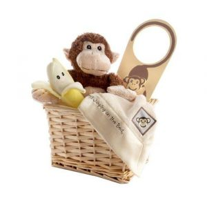 Baby Aspen Five Little Monkeys Five Piece Gift Set