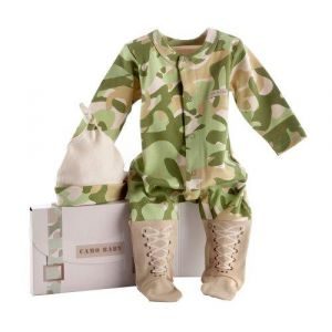 Baby Aspen Big Dreamzzz Baby Camo Two-Piece Layette Set in